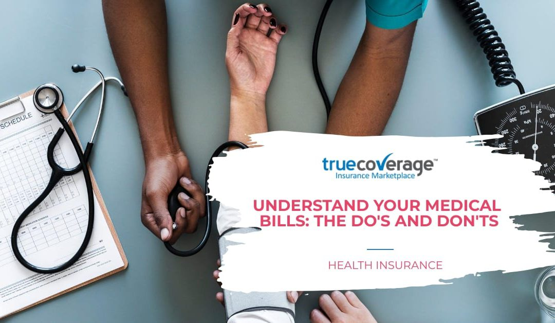 understand your medical bill do's and donts
